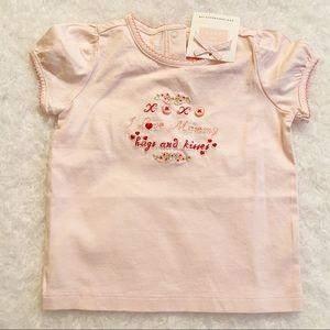 Janie and Jack Shirts & Tops - Janie and Jack I love Mommy tee NWT